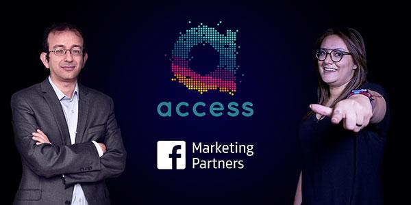 Mohamed Ali Elloumi et Amira Athimni de Access invités chez Facebook