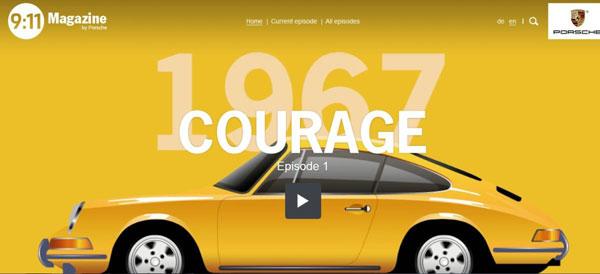 La communication Porsche adopte le format web TV avec « 9:11 Magazine »