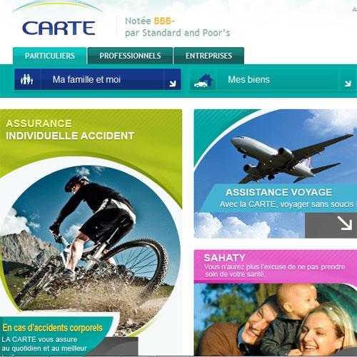 Un nouveau portail pour La CARTE