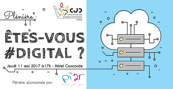 ''ÊTES-VOUS #DIGITAL ? '' Une plénière qui réunira les jeunes dirigeants en Tunisie en présence de Edouard Level