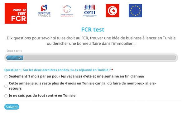 Le Test FCR pour développer les projets en Tunisie