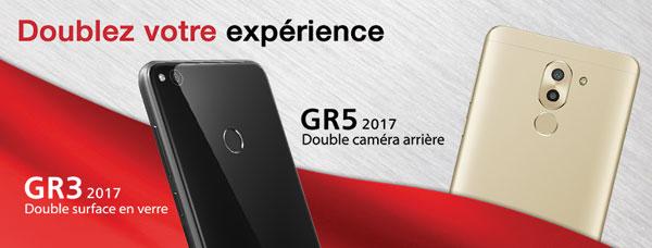 Le dual caméra Live de Huawei !