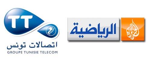 Tunisie Telecom 1er annonceur tunisien sur Al Jazeera Sport