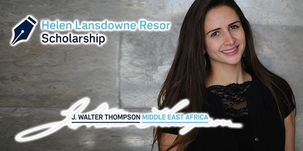 J. Walter Thompson annonce les gagnants de la bourse scolaire HLR de 2017