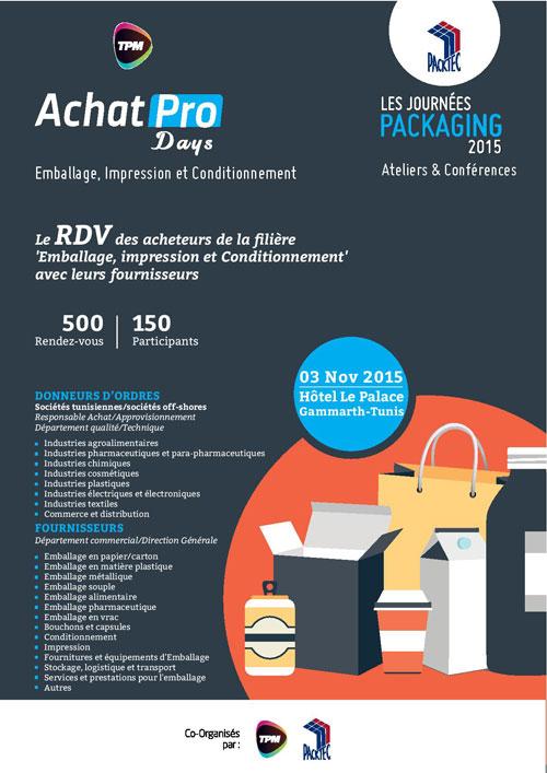 Packaging days et AchaPro Days, deux événements sous une plateforme unique