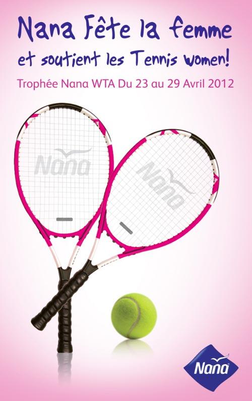 Lancement de  NANA TROPHY WTA : le 1er Tournoi de Tennis féminin