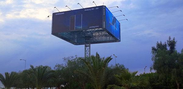 En vidéo : SKY BOX, le panneau quadri faces tournant by IMS Outdoor