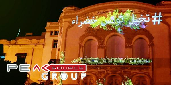 En vidéo : Découvrez le magnifique Mapping sur le théâtre municipal