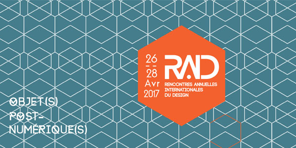 Les rencontres annuelles internationales du design du 26 au 28 à l'ESSTED