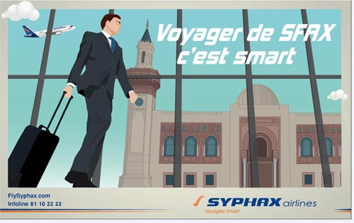 SYPHAX AIRLINES : Lance sa campagne publicitaire