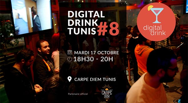 Le retour de Digital Drink Tunis