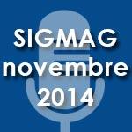 Audience TV et RADIO pour Novembre 2014 par Sigma Conseil