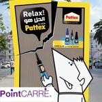 Pattex :Nouvelle campagne signée point carré