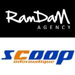 L'agence RAMDAM lance une campagne d'affichage urbain pour la marque Scoop informatique