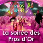 La soirée des Pros d'Or : Un dîner VIP pour 800 personnes