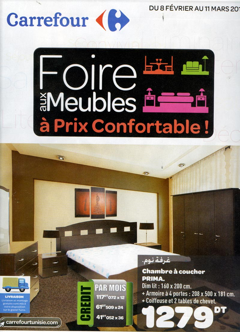 Meuble Tv Carrefour Tunisie Catalogue Carrefour By Carrefour  # Meuble Tv Carrefour