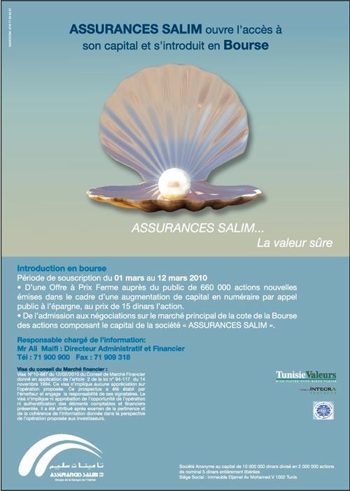 Assurance Salim la valeur sûre