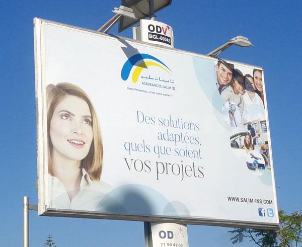 Campagne Assurances Salim : Octobre 2017