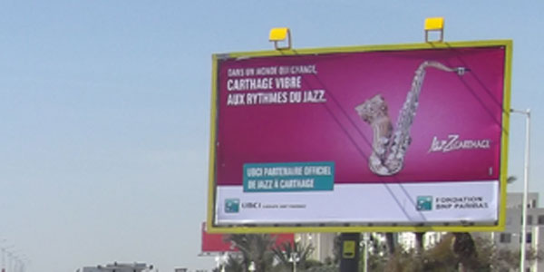 Campagne Carthage Vibre aux Rythmes du Jazz - Avril 2017
