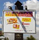 Campagne d'affichage : les super promos Monoprix