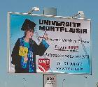 Campagne d'affichage : université Montplaisir